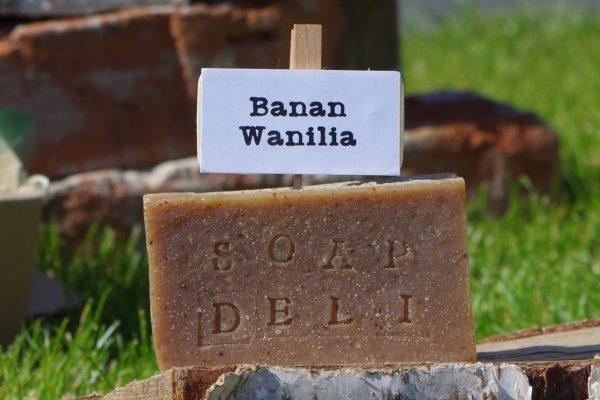 mydło banan wanilia